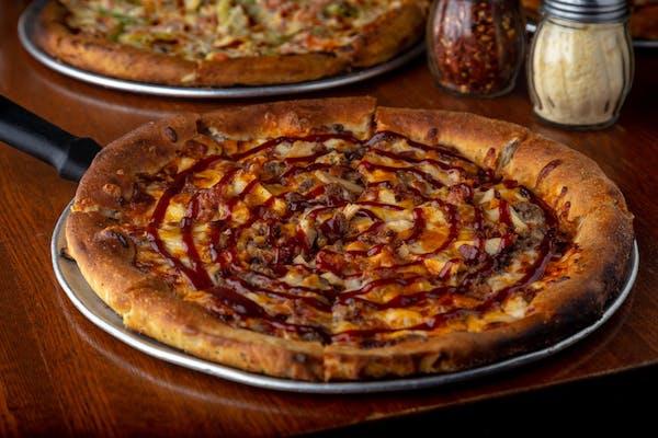 Backwoods BBQ Pizza