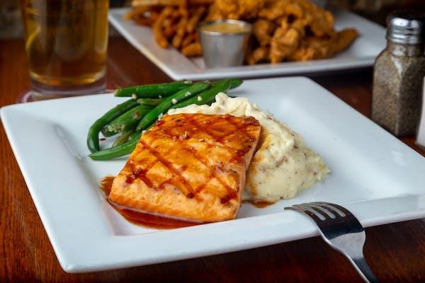 Grilled Alaskan Salmon