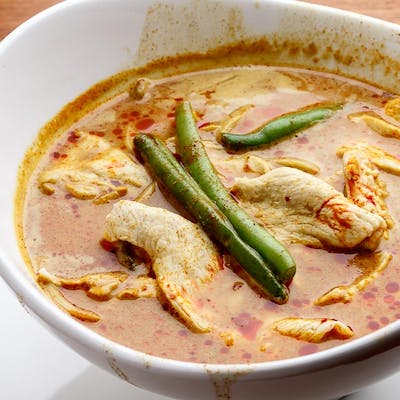 Curry Noodle Soup with Chicken