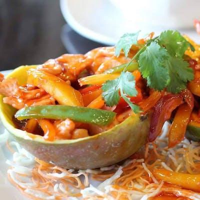Thai Style Mango Chicken