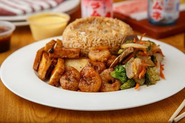 Tofu & Shrimp Entrée