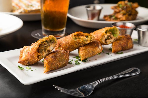 Spicy Chicken & Avocado Egg Rolls