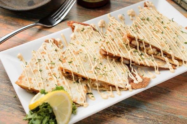 Shrimp & Crab Quesadillas
