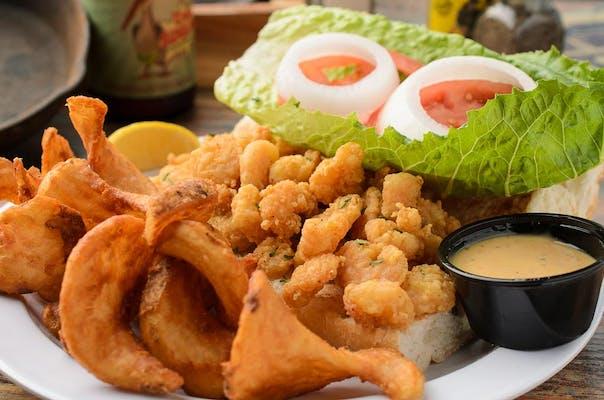 New Orleans Shrimp Po-Boy