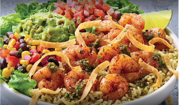 Tex-Mex Shrimp Bowl