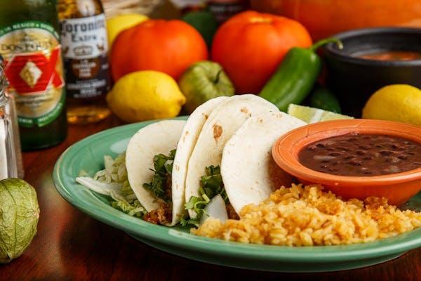 (3) Tacos