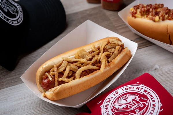 Chili Crunch Dog