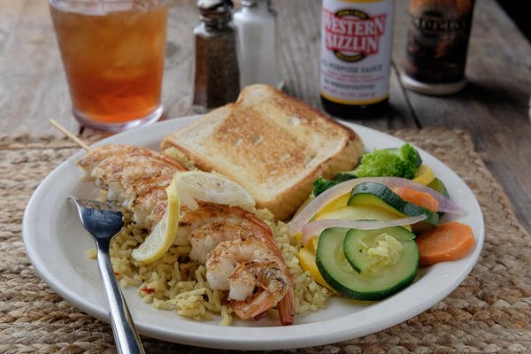 Grilled Shrimp Platter