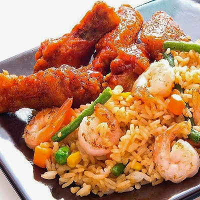 Shrimp Fried Rice Combo