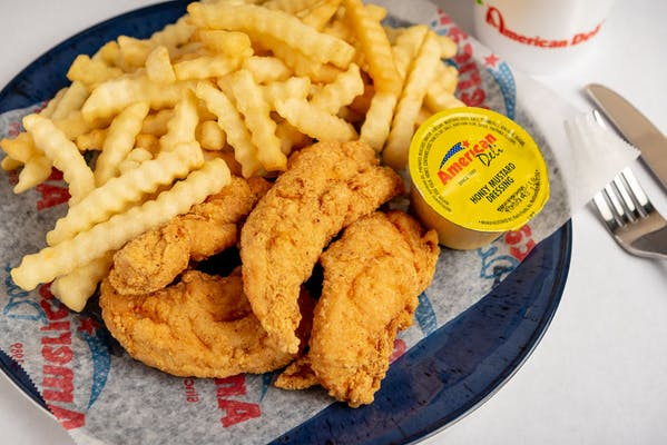 (4 pc.) Chicken Tenders Combo