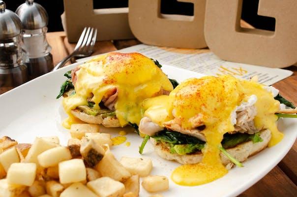Ham & Turkey Benedict