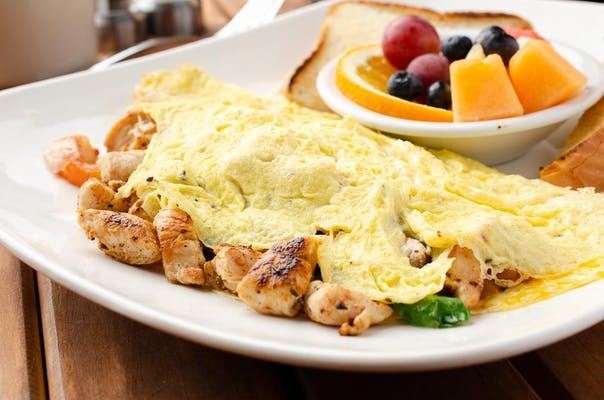 Chipotle Chicken Omelette