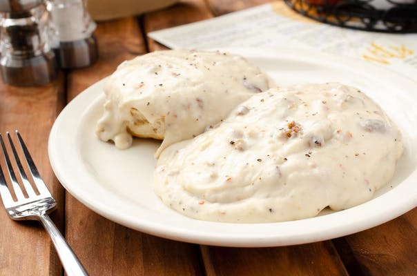Cathead Biscuit with Gravy