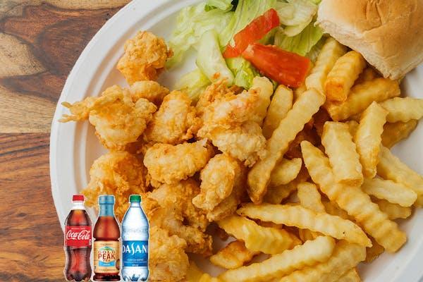 Shrimp Platter Coca-Cola Combo