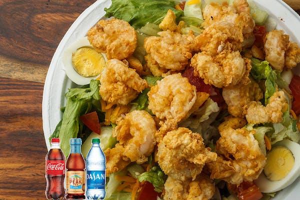 Shrimp Salad Coca-Cola Combo