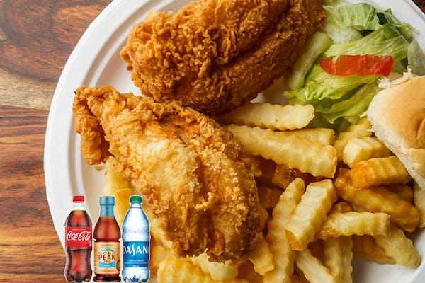 Fish Platter Coca-Cola Combo