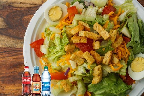 Chicken Salad Coca-Cola Combo
