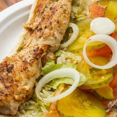 Grilled Chicken Po-Boy