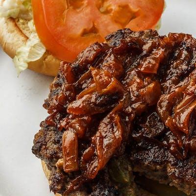 #2 Cajun Burger Combo