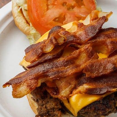 #4 Bacon Cheeseburger Combo