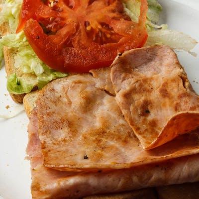 #8 Ham or Turkey Sandwich Combo