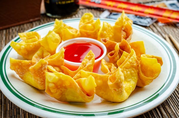 Crab Rangoon with Cheese