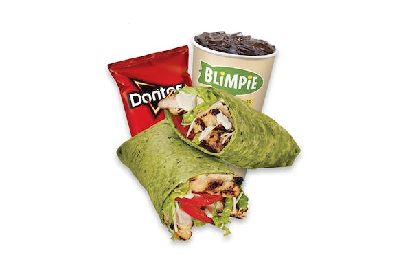 #5 Chicken Caesar Wrap Combo