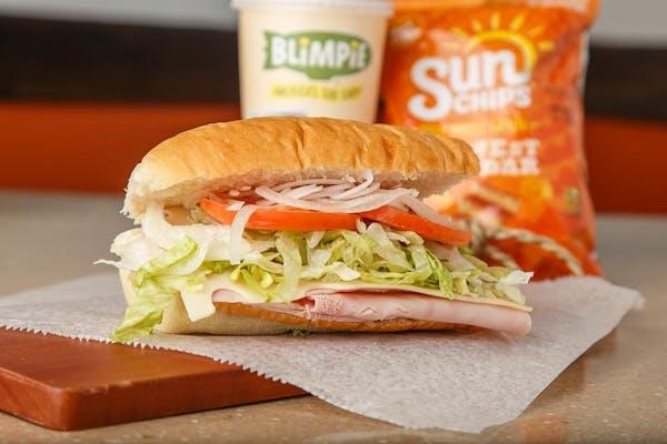 Ham & Swiss Sub