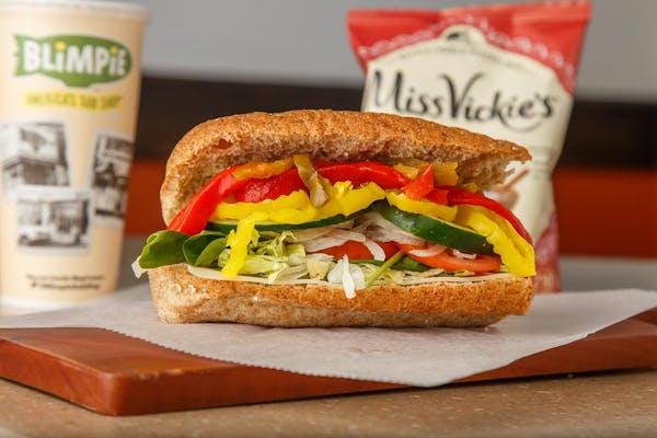 Veggie & Cheese Sub