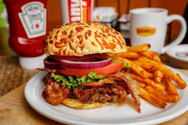 Bourbon Bacon Burger