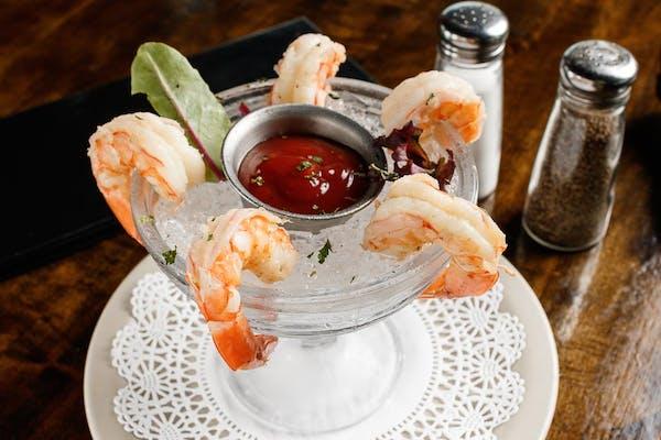 Cold Boiled Shrimp Cocktail