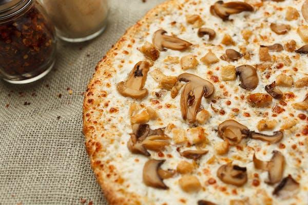Garlic White Pizza