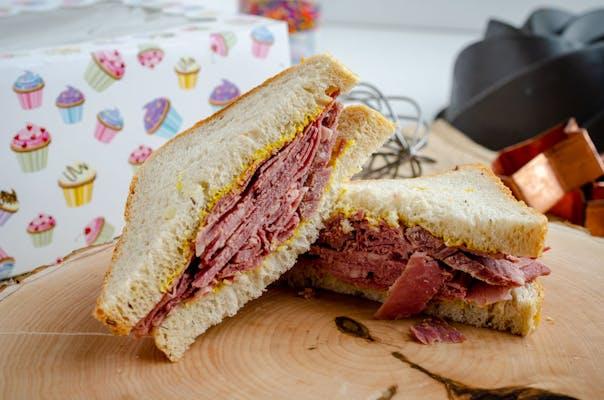 Corned Beef & Rye Sandwich
