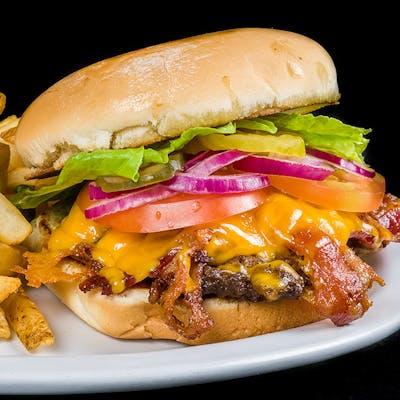 The Bacon Cheddar Barn Burger