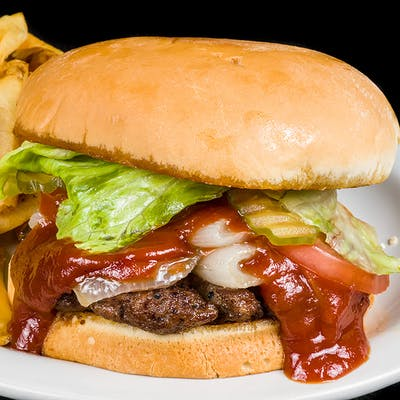 The BBQ Barn Burger