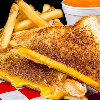 Kid's Grilled Cheese Combo
