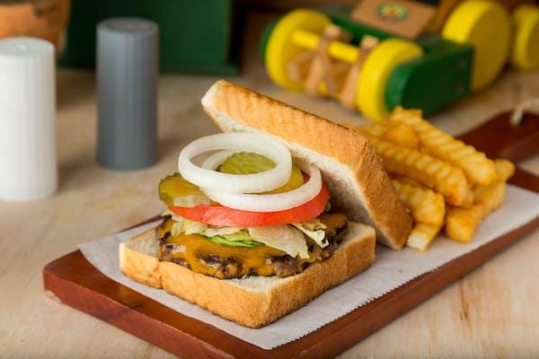 Angus Burger Combo
