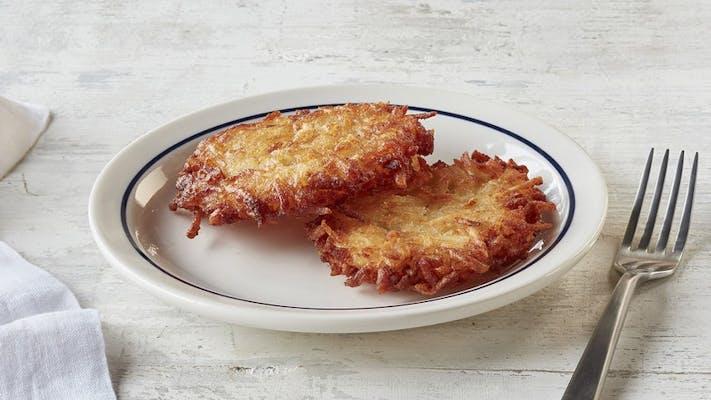 2 Crispy Potato Pancakes