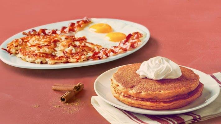 Seasonal Pancake Combo