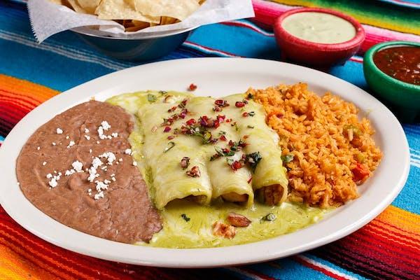 Poblano Enchiladas