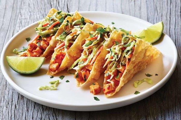 Chicken Wonton Tacos