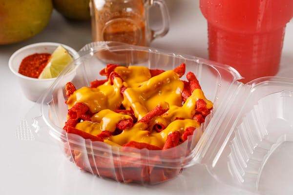 47. Takis with cheese