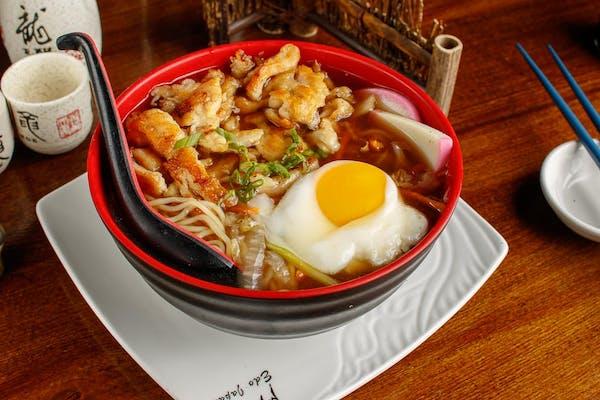 Chicken Nabeyaki Udon Soup