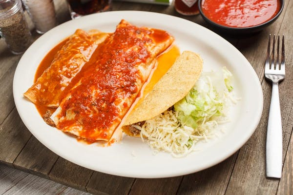 Burrito, Enchilada & Taco