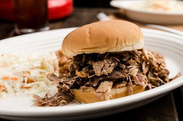 Pork Sandwich Plate
