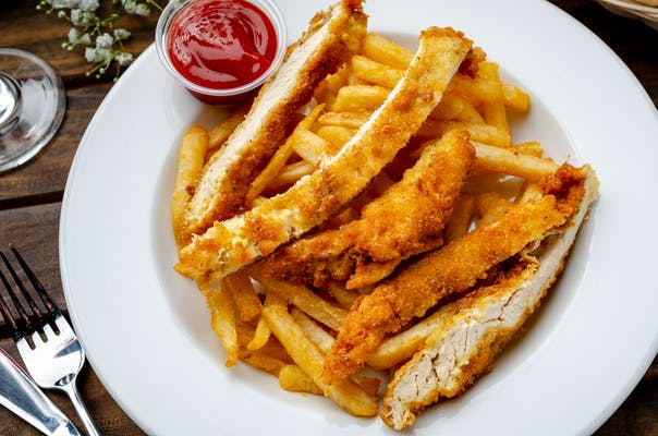 Kid's Milanese Chicken Strips