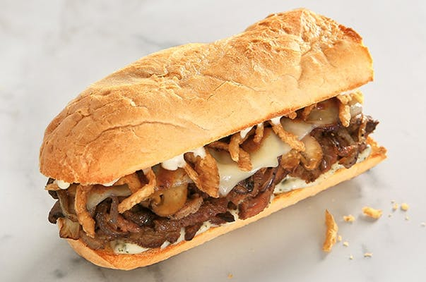 Rails_Steak and Mushroom Sandwich