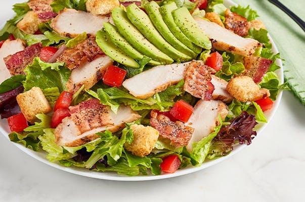 Chicken and Avocado BLT Salad