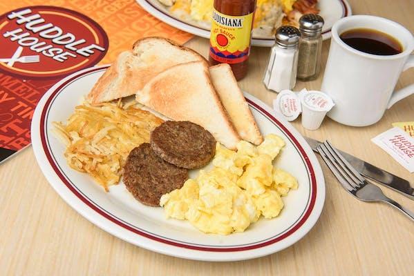 Two-Egg Breakfast Platter