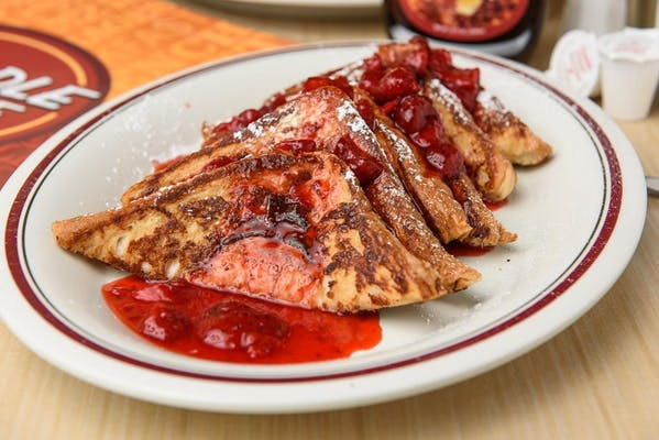 Strawberry French Toast Platter